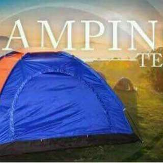 Camping tent capacity of 4persons /pre order