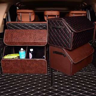 Car Trunk Storage Box Storage Box Folding Box Car Interior Multifunctional Storage Box Car Accessories