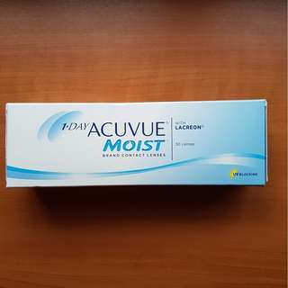 BN 1Day Acuvue Moist Contact Lenses
