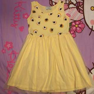 Seed Yellow Dress