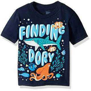 Disney Baby Boy Kids Toddler Clothes Tshirt Shirt Short Sleeves Finding Dory Nemo