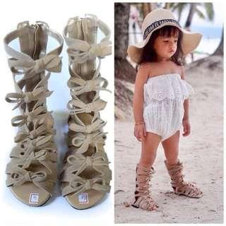 toddler kids gladiator sandals