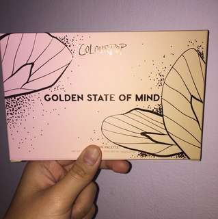 Golden State of Mind Eyeshadow palette