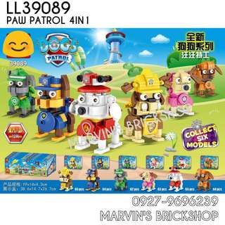 For Sale Paw Patrol 6in1 Buidable Figures Building Blocks