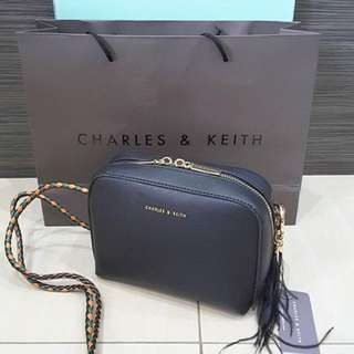 CHARLES & KEITH Crossbody Bag (Authentic)