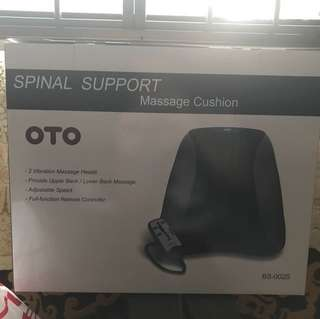 OTO spinal support massage cussion
