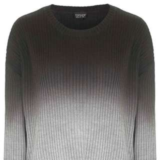 Topshop Ombre Sweater