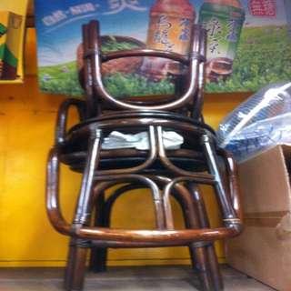 60年代老藤椅一對