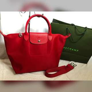Authentic Longchamp Le Pliage Neo medium