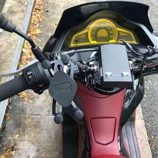 Honda PCX 150 Motorcycle MWUPP XGrip Handphone Holder Mobile Phone Holder
