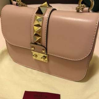 Valentino Stud Lock bag