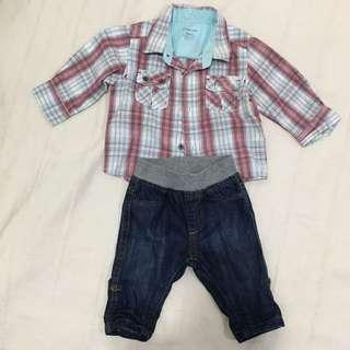 Baby Boy Shirt & Jean