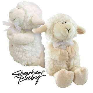 BNWT Stephen Baby Musical Praying Lamb