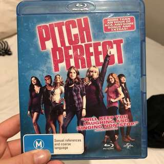 Pitch perfect blu Ray DVD