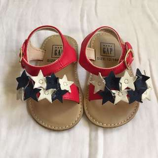 Gap baby sandals (soft sole) 12-18 11.5cm