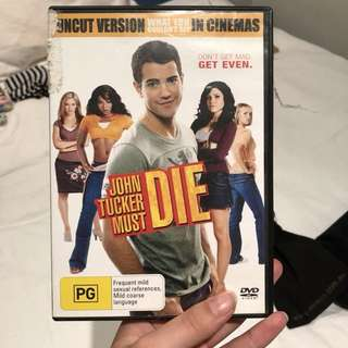 John tucker must die DVD