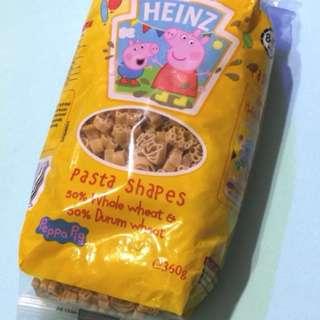 英國HENIZ亨氏Peppa Pig佩佩豬造型全麥及杜蘭小麥通粉 360g (最佳食用期2018年7月) 英國HENIZ亨氏Minions造型全麥及杜蘭小麥 通心粉