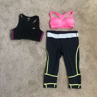ACTIVEWEAR! Adidas cotton on body!