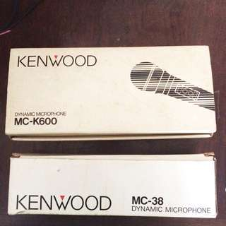 Kenwood Microphone Set