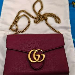 Gucci GG wallet on chain