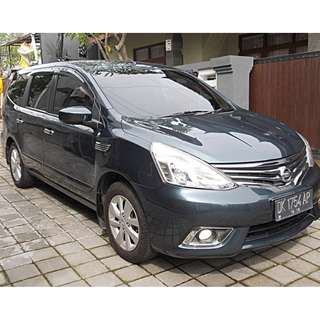Nissan Grand Livina 1.5 XV CVT XTronic th 2013 asli Bali 3 TV DVD istimewa