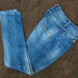 Jeans biru #CNY2018