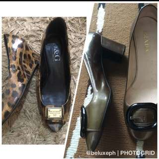 Prada and Dolce Gabbana shoes bundle