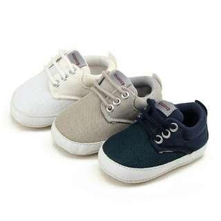 Newborn Baby Boy First Walker Soft Sole Shoes