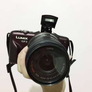 Lumix GF3 body + lens (42mm)