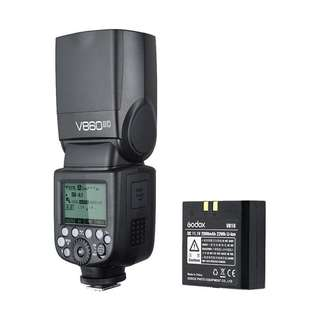 NEW Godox Ving TT860II 2.4G GN60 TTL HSS 1/8000s Li-on Battery Camera Flash Speedlite For Sony / Canon / Nikon
