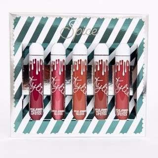 [LAST BOX] Kylie Spice Lip Set Velvet Liquid Lipstick Gloss Matte Liquid Lipstick