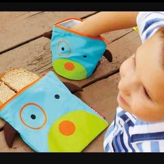 🍃 Snack Bag (Reusable Ziplock)