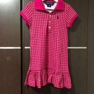 Pre-loved Ralph Lauren dark pink/magenta dress size 2