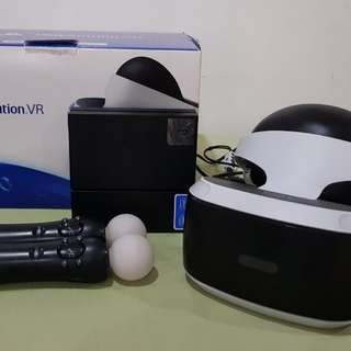 Playstation VR with motion controllers