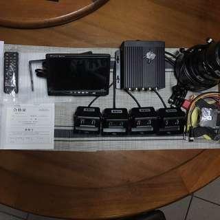 薄利恆小舖 免運費 四鏡頭 行車紀錄器 客貨車 大車 沙石車 高清 ahd  Sony 代工鏡頭 配件全附 直上