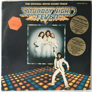 Various ‎– Saturday Night Fever - The Original Movie Soundtrack (1977 Germany Original - Vinyl is Excellent - 2LP in Gatefold Sleeve)
