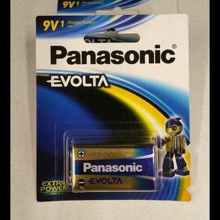 Panasonic Evolta 9V Alkaline Battery