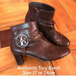 Authentic Tory Burch Ankle Boots