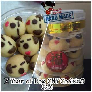 CNY Cookies for Chinese New Year