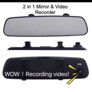 Dual Car Cam Recorder with REAR Mirror 1080HD(Night Vision version)