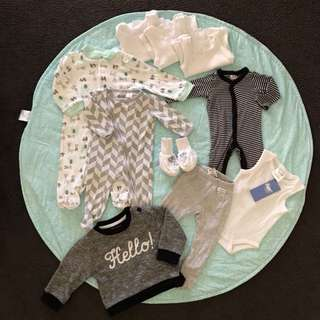 Baby Boy Bundle - All for $5 (newborn +)