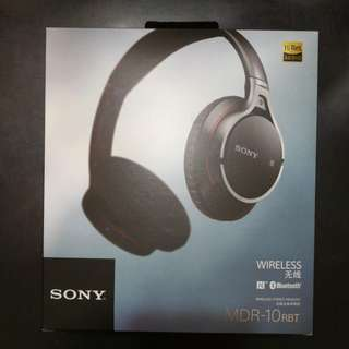 Sony Brand New MDR-10RBT WIRELESS Bluetooth Headphone