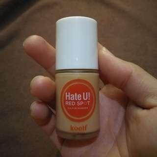 Hate U! Red Spot Sulfur Powder