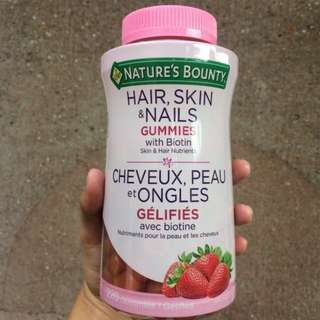Nature's Bounty® Optimal Solutions® Hair, Skin & Nails Gummies