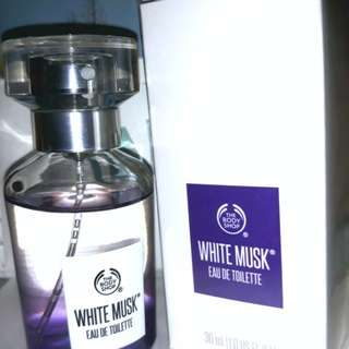 The Body Shop's White Musk as Famously Seen in Goblin