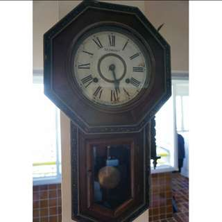 German vintage clock