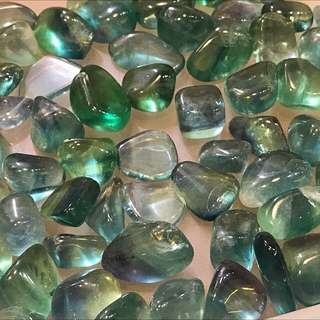 Nice quality blue green fluorite