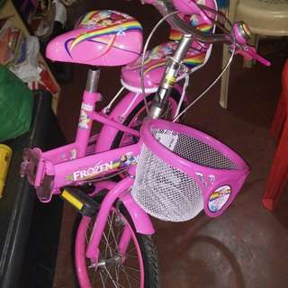 Frozen Folding Bike for Kids (2 seater)