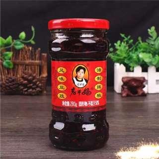 老干媽風味豆豉油制辣椒 280g