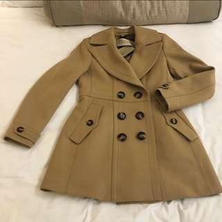 全新Burberry羊毛外套。經典Trench Coat款中褸